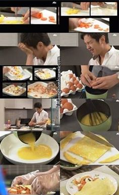 eu quero esse omelete de ursinho !!!