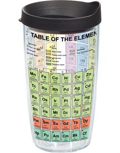 Someone want to get for me??!!  New Arrivals | The Periodic Table of Elements - Wrap with Lid | The Periodic Table of Elements - Wrap with Lid | Tumblers, Mugs, Cups | Tervis