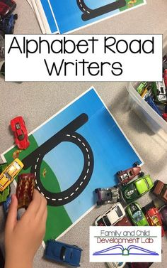 Perfect for preschool and kindergarten centers. These alphabet roads build alphabet knowledge, letter formation, and early handwriting skills. They can be worked with using all 26 lower and uppercase letters or they can be worked with only a few at a tim