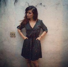 estilo da cantora pitty | Lady Rosa Choque- vestido Esquilos Antix