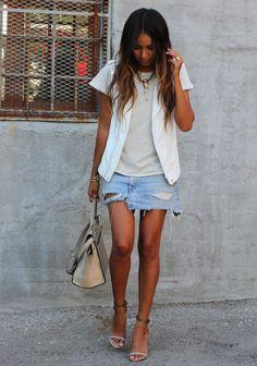 3 x jeans + branco