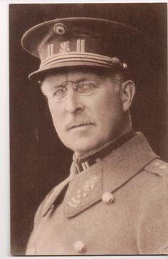Vintage Postcard King Albert I of Belgium