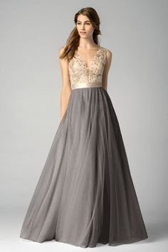 Watters Bridesmaid Dress - 7319i krystin maid of honor