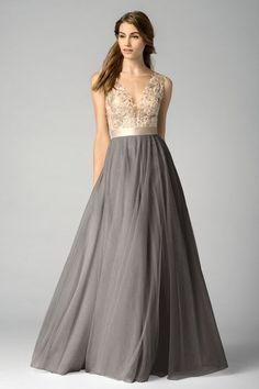 Watters Bridesmaid Dress - 7319i krystin maid of honor