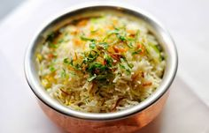 This delicious Zaffrani rice pulao recipe is from Tamarind's Alfred Prasad. Simply made, the pulao recipe uses basmati rice, cumin, cardamon, saffron and bay leaves