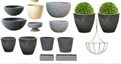 Just In: Spring Planters at Terrain