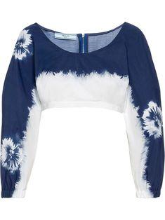 Blusas Crop Top, Crop Top Shirts, Crop Tops, Classy Outfits, Trendy Outfits, Cool Outfits, Prada, Diy Vetement, Tie Dye Crop Top