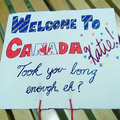 You'll Prefer Going Home Alone After Seeing These 60 Awkward Airport Signs - Page 2 of 59 - NewsD Welcome Home Surprise, Welcome Back Home, Welcome Home Signs, Welcome Boards, Airport Welcome Signs, Airport Signs, Hosting An Exchange Student, Foreign Exchange, Welcome Poster