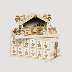 26 Best Wooden Nativity Advent Calendar Images Xmas Nativity