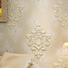 3D de alta qualidade do Super luxo 3D em relevo mural papel de parede de papel reunindo glitter bege azul cinza(China (Mainland))