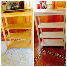 Transformed using Autentico chalk paint in almond