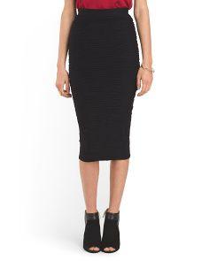 image of Juniors Seamless Midi Skirt