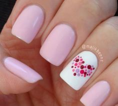 "Say ""ILY"" With These 14 Valentine's Day Nail Ideas"
