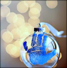 ✰ Baby's First Christmas Ornament - DIY ✰