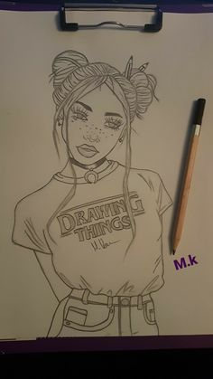 Me encanto este dibujo lo e hecho mas de 10 beses drawing people, drawing things Bff Drawings, Tumblr Drawings, Cool Art Drawings, Pencil Art Drawings, Amazing Drawings, Art Drawings Sketches, Easy Drawings, Drawing Ideas, Cute Drawings Of Love