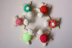 Amigurumi turtle crochet pattern