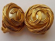 A personal favorite from my Etsy shop https://www.etsy.com/listing/230185717/chanel-vintage-clip-on-earrings