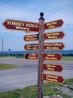 Winery directions