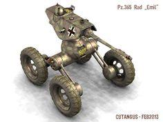 Scouting Panzer by CUTANGUS.deviantart.com on @deviantART