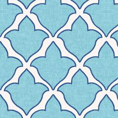 Fleur, in Birds Egg and Navy fabric by sparrowsong on Spoonflower - custom fabric