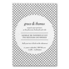 Deco Glam - Invitation - White Shimmer  |  COLOR OPTIONS    |  40% OFF  |  http://mediaplus.carlsoncraft.com/Wedding/Wedding-Invitations/3214-MM39367WS-Deco-Glam--Invitation--White-Shimmer.pro?pvc=&qty=0