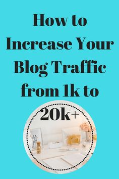 I get it, you want traffic to your blog like yesterday.  Well, it is simple when you follow these hacks. I went from 1k to 20k in 30 days.