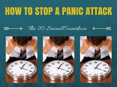 How to Stop a Panic Attack – The 20 Second Count Down