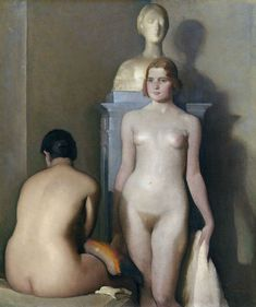 Edgardo Sambo Cappelletti (1882-1966) - Les Trois Modèles