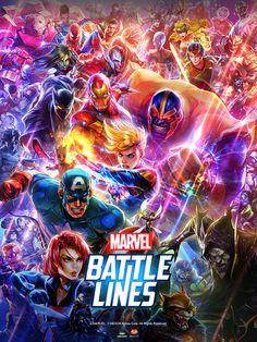 Marvel Battle Lines Soundtrack Esti Benicx Marvel Video Games, Marvel Avengers Games, Marvel Heroes, Realistic Drawings, Cool Drawings, Captain Marvel Carol Danvers, Marvel News, Marvel Movies, Comic Movies