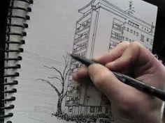 Urban Sketching in Saint-Louis, FR