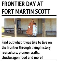 Find out what it was like to live on the frontier at Frontier Day at Fort Martin Scott. #fbgtx #txhillcountry #event