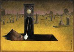 O que é o homem? O que é a sociedade? Aonde vamos? Estas e muitas outras questões são o foco do trabalho do renomado cartunista polaco Pawel Kuczynski.
