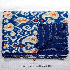 Cynthia Rowley Moroccan 3pc Queen Quilt Set New