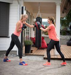 Abilica Slaghansker for deg som skal trene på sekk, punchingball og puter.