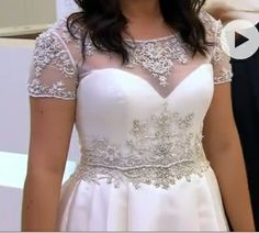 Wedding Dress with Jacket by designer Casablanca as seen on Something Borrowed Something New episode 'Lauren'.  Stylist took Jacket from dress 2088 and added it to dress  2073G.  Very princess, very cute.