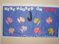 Hooked on Jesus - Fish Bulletin Board.