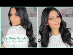 tutoriel coiffure: boucles souples à la Kim Kardashian!