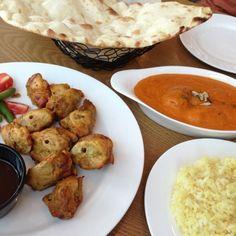 レシピとお料理がひらめくSnapDish - 5件のもぐもぐ -  Chicken Tikka, Chicken Makhani, and Naan by ✨강민지✨