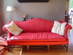 Scavenger: Vintage Chippendale Camelback Sofa - $599 — Boston | Apartment Therapy