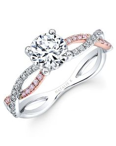 Le Rosè Collection - NK32784AZD-WR  Absolutely love this. Can totally see this type being my ring :)