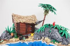 2014 MocAthlon: Pirates hideout: A LEGO® creation by david Hensel : MOCpages.com