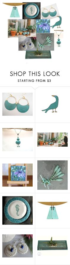 """Summer Sandals"" by inspiredbyten ❤ liked on Polyvore featuring Lazuli and vintage"