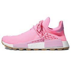 Human Race Shoes, Adidas Human Race, Human Race Nmd, Adidas Nmd, Adidas Sneakers, Pink Color Schemes, Hype Shoes, 17th Birthday, Latest Shoes