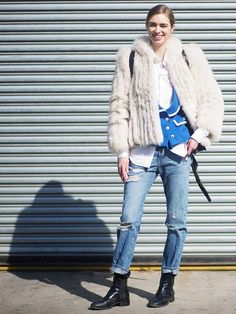 Winter Layering Ideas From the Streets of New York   WhoWhatWear