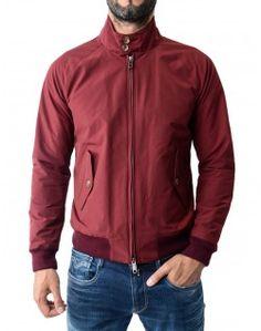 Baracuta Burgundy Harrington G9 Jacket