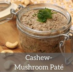 Cashew-mushroom paté - vegan