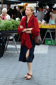 Michelle Williams Filming After The Wedding in NYC 06/04/2018
