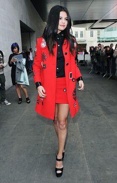 How to Get Selena Gomez's Sophisticated Style via @WhoWhatWearUK