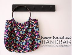 Hoop Handled Handbag