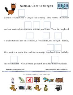 Ms. Lane's SLP Materials: Articulation-Vocalic R Story Activity (Or Sound). Pinned by SOS Inc. Resources. Follow all our boards at pinterest.com/sostherapy for therapy resources.